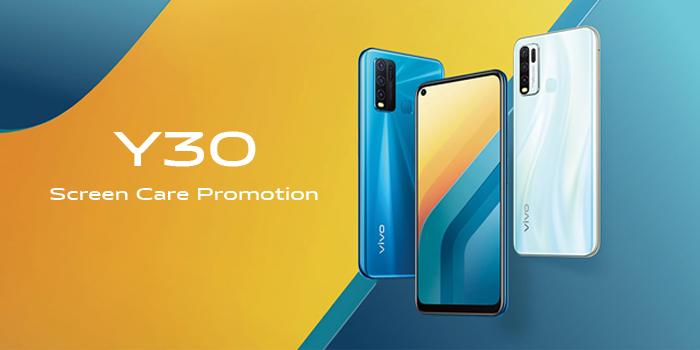 vivo Y30 Screen Care Promotion